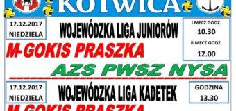 Siatkarskie mecze w Praszce