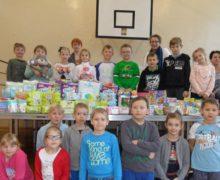 Uczniowie z Borek Wielkich udzielają się w akcjach charytatywnych