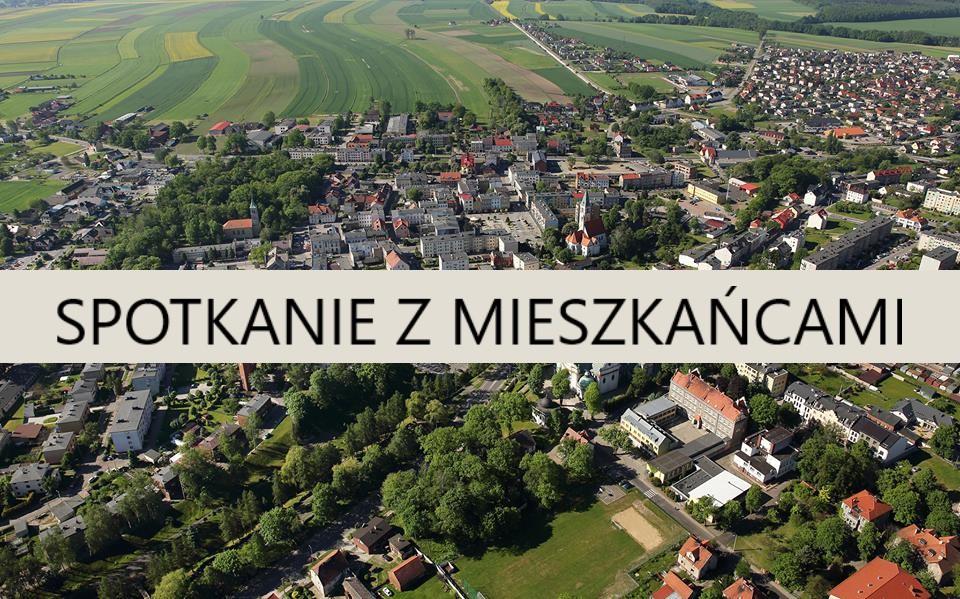 Burmistrz Olesna zaprasza mieszkańców na spotkanie
