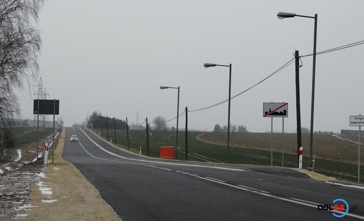 Droga Olesno-Nowy Wachów oddana do użytku