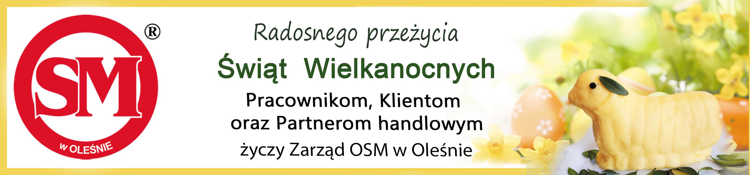 OSM Olesno - życzenia wielkanocne