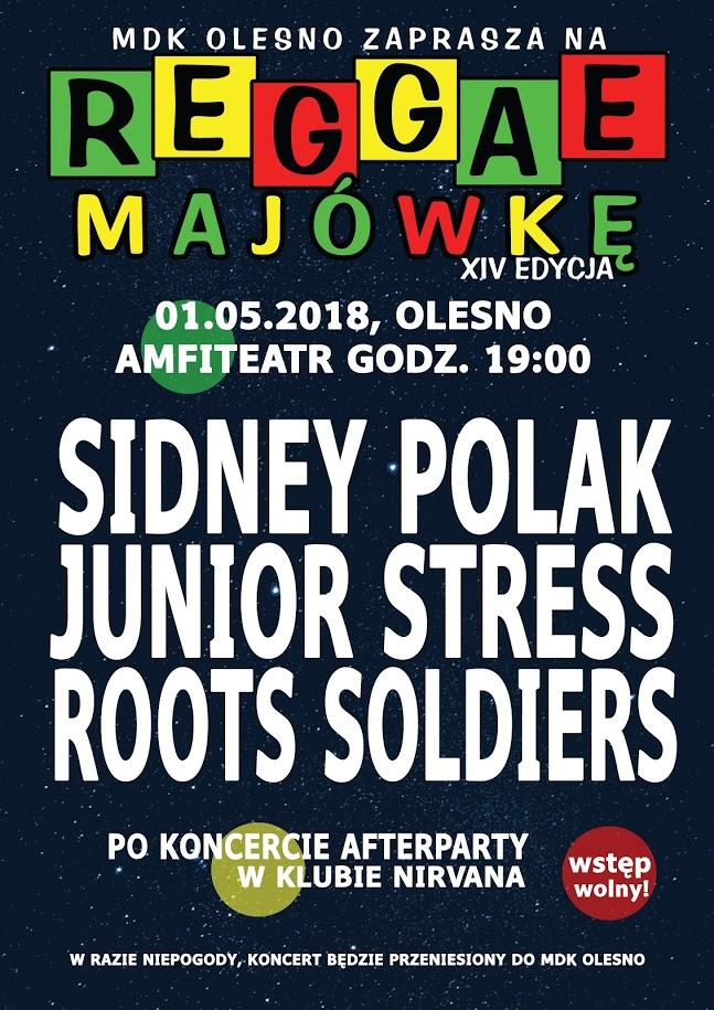 Reggae Majówka – Olesno