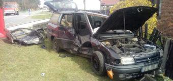 Wypadek w Kolonii Biskupskiej. Trzy osoby poszkodowane