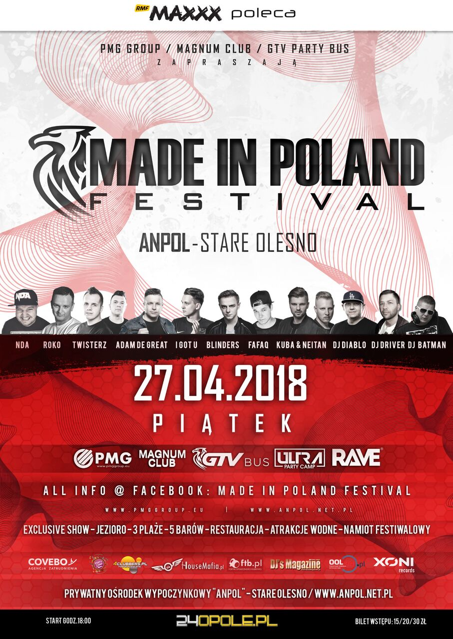 Made in Poland Festiwal – Stare Olesno
