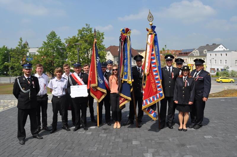 Strażacy z Borek Wielkich z wizytą w Czechach