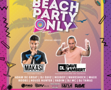 Wielkie Rozpoczęcie Wakacji 2018! Beach Party Only