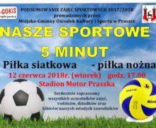 Podsumowanie zajęć sportowych M-GOKiS Praszka