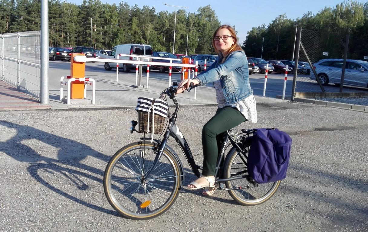 W Orasie przypomnieli rowerom, gdzie pracują