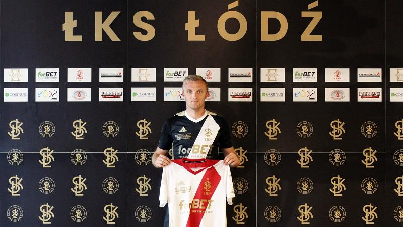 Jan Grzesik z Zębowic w ŁKS-ie Łódź!