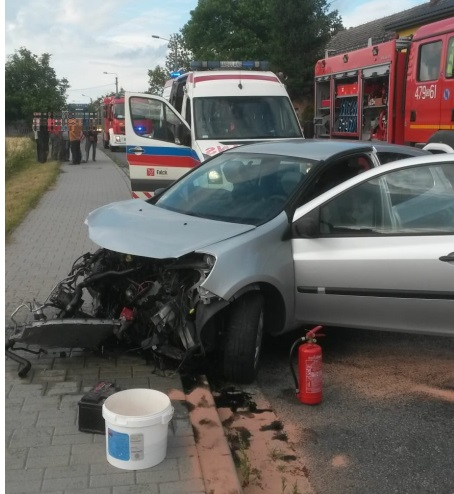 Wypadek z udziałem pięciu osób w Gorzowie Śląskim