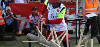 Francuz, Słowak i Polak na podium zawodów drwali w Bobrowej