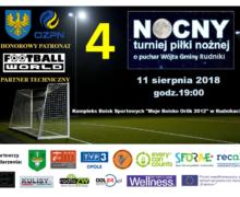 4 Nocny Turniej Piłki Nożnej – Rudniki