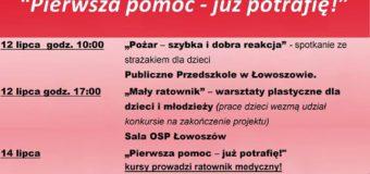 """""""Pierwsza pomoc – już potrafię!"""" – OSP Łowoszów"""
