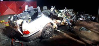 Trzy ofiary śmiertelne i czworo rannych. Policjanci wyjaśniają okoliczności wypadków