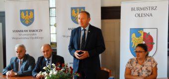Kolejne 3 miliony złotych zostaną zainwestowane w oleskiej strefie inwestycyjnej