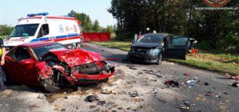 Wypadek w Gorzowie Śląskim. Cztery osoby poszkodowane