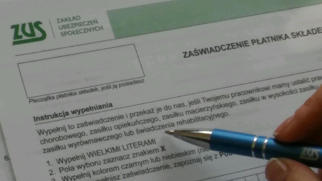 Opolski ZUS kontroluje zwolnienia chorobowe. 160 tysięcy złotych do oddania