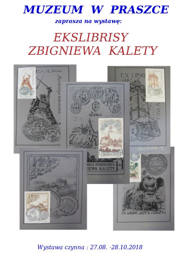 Ekslibrisy Zbigniewa Kalety – Muzeum w Praszce