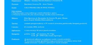 XIII Grand Prix Gorzowa Śląskiego