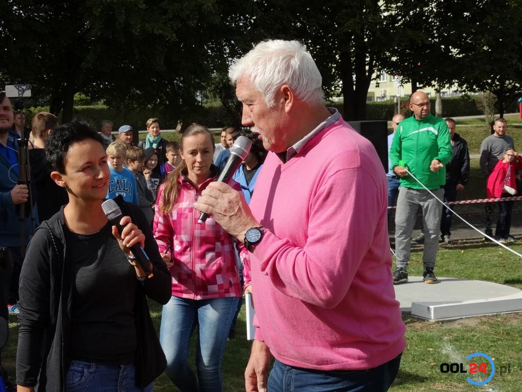 Mistrz olimpijski na V Festiwalu Pchnięcia Kulą w Oleśnie