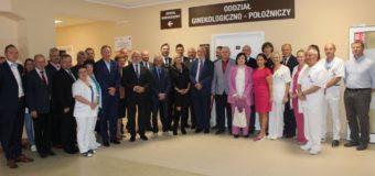 Oficjalne otwarcie oddziału ginekologiczno-położniczego w oleskim szpitalu