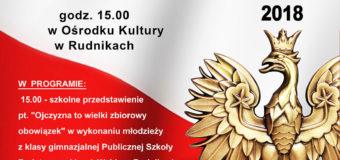 Narodowe Święto Niepodległości – Rudniki