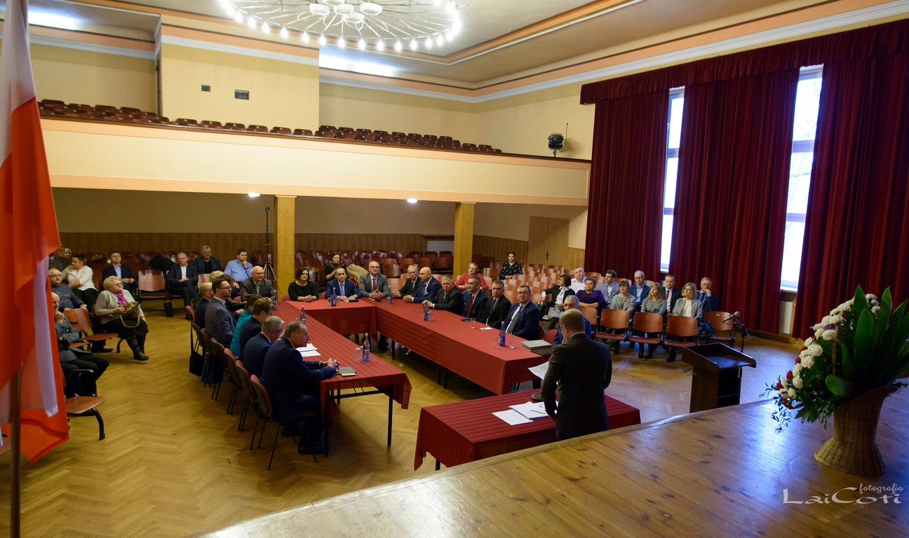 I Sesja Rady Miejskiej w Oleśnie