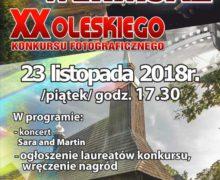 Wernisaż XX Oleskiego Konkursu Fotograficznego