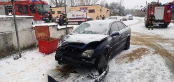 Wypadek dwóch samochodów w Żytniowie