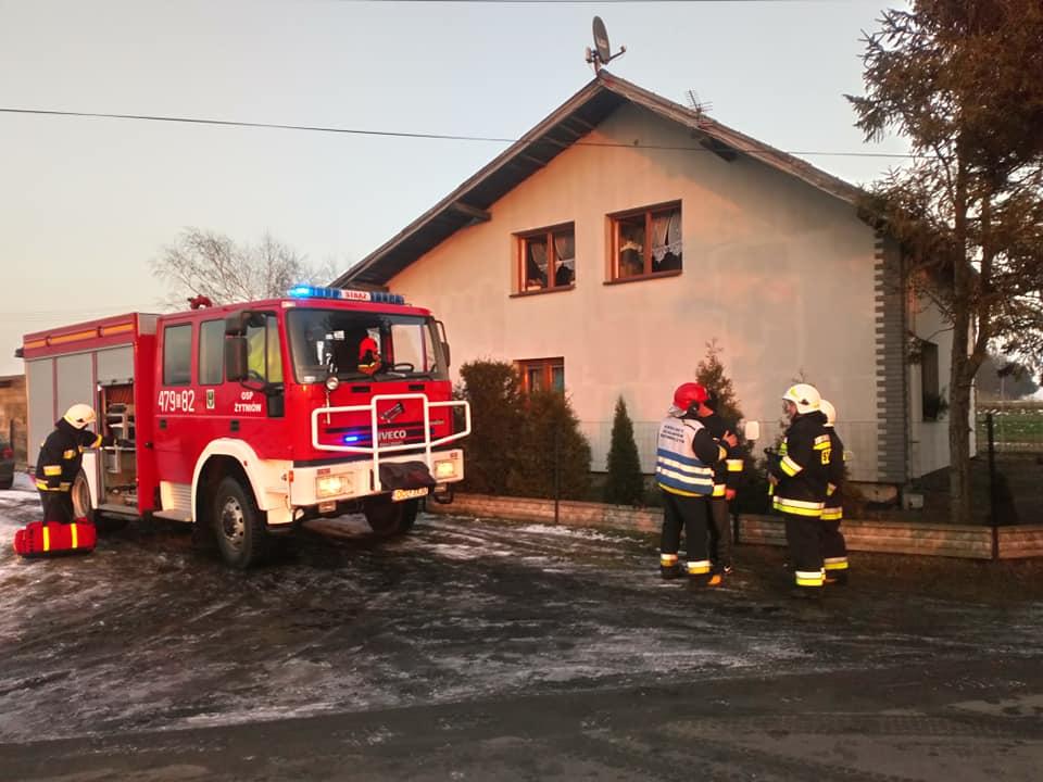 Wybuch gazu w budynku jednorodzinnym
