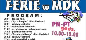 Ferie w MDK Olesno