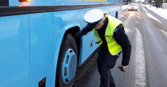 Możliwość kontroli autobusów przed wyjazdem na ferie