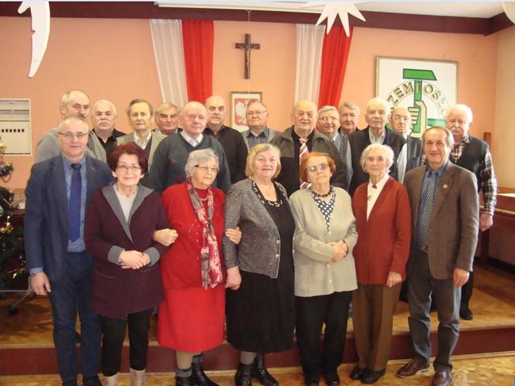 Noworoczne spotkanie emerytów w oleskim Cechu