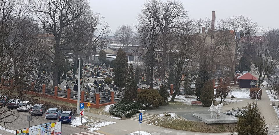 Kradzieże na cmentarzu komunalnym w Oleśnie