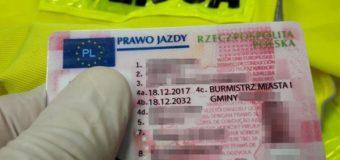 25-latek podrobił prawo jazdy