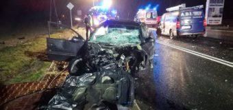Śmiertelny wypadek w Malichowie. Sześć osób poszkodowanych