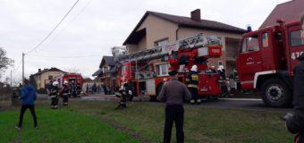 Pożar domu jednorodzinnego w miejscowości Rosochy