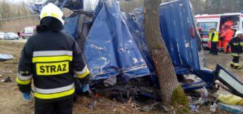 Śmiertelny wypadek na trasie Boroszów-Kozłowice. Kierowca miał ponad 2 promile