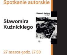 Spotkanie autorskie Sławomira Kuźnickiego – Olesno