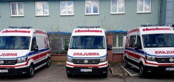 Oleski szpital ma trzy nowe karetki