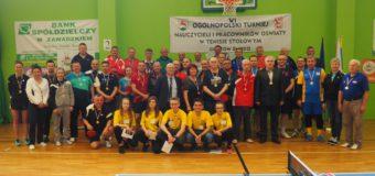 VI Ogólnopolski Turniej Nauczycieli i Pracowników Oświaty