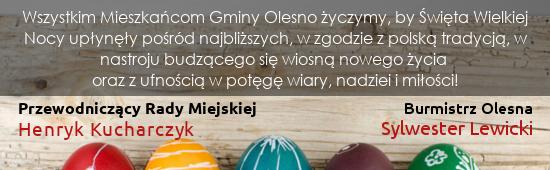 Życzenia Gmina Olesno