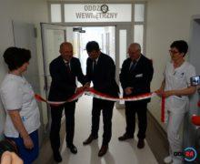 Oddział wewnętrzny w oleskim szpitalu wyremontowany. W ostatnich latach w oleski szpital zainwestowano 35 milionów złotych