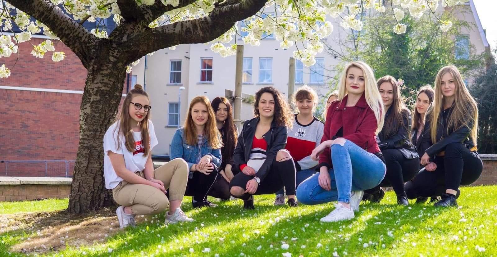 Olescy uczniowie pracowali w całej Europie. Miejscowi zaskoczeni tempem ich pracy