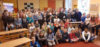 Dzieci z Borek Wielkich w czeskich Oticach