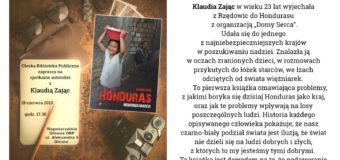 Oleska Biblioteka Publiczna zaprasza na spotkanie autorskie z Klaudią Zając