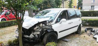 Wypadek w centrum Dobrodzienia