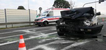 Wypadek na obwodnicy Dobrodzienia