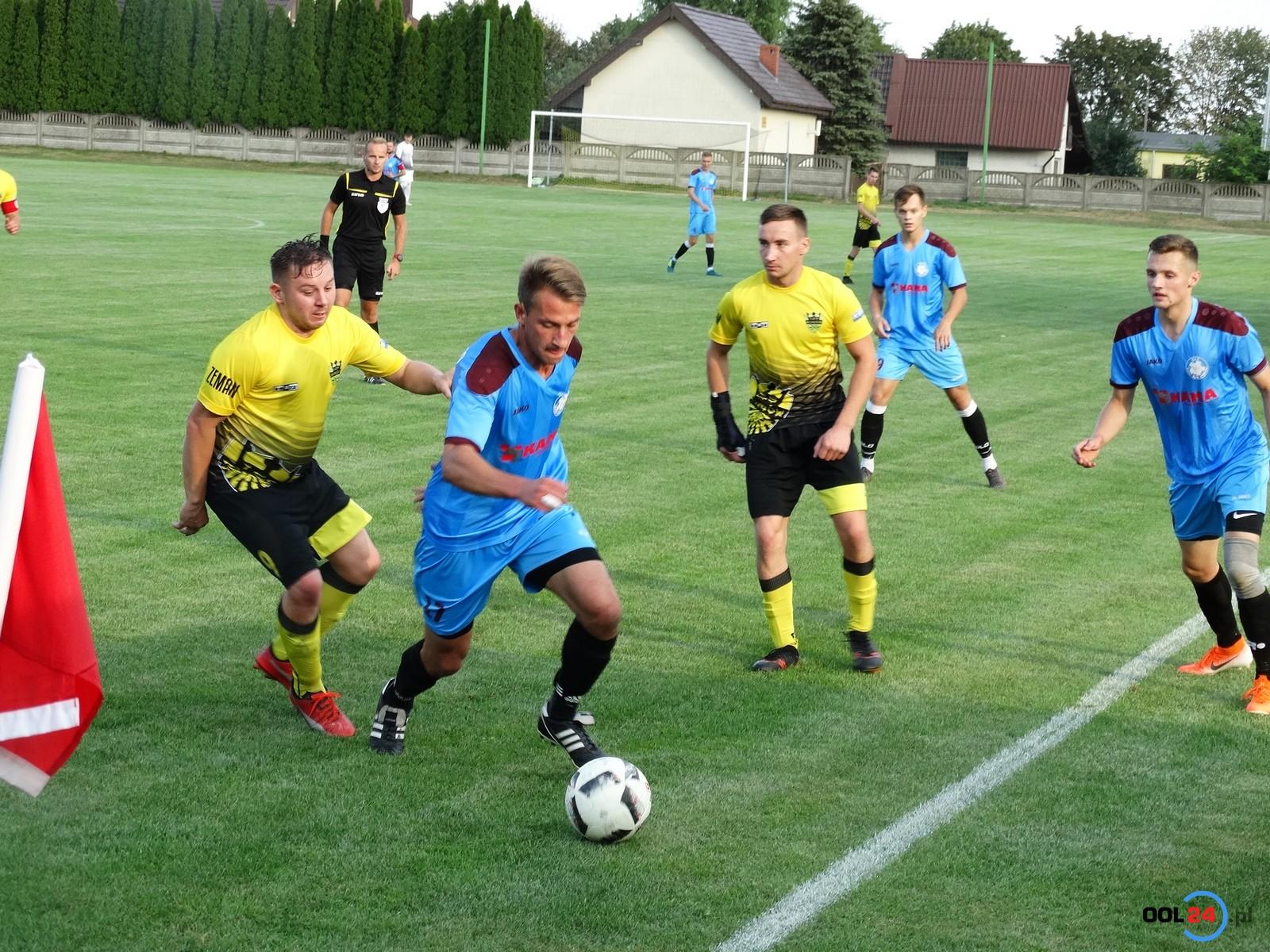 0-1 do przerwy, po przerwie 4-1. OKS gra dalej w Pucharze Polski