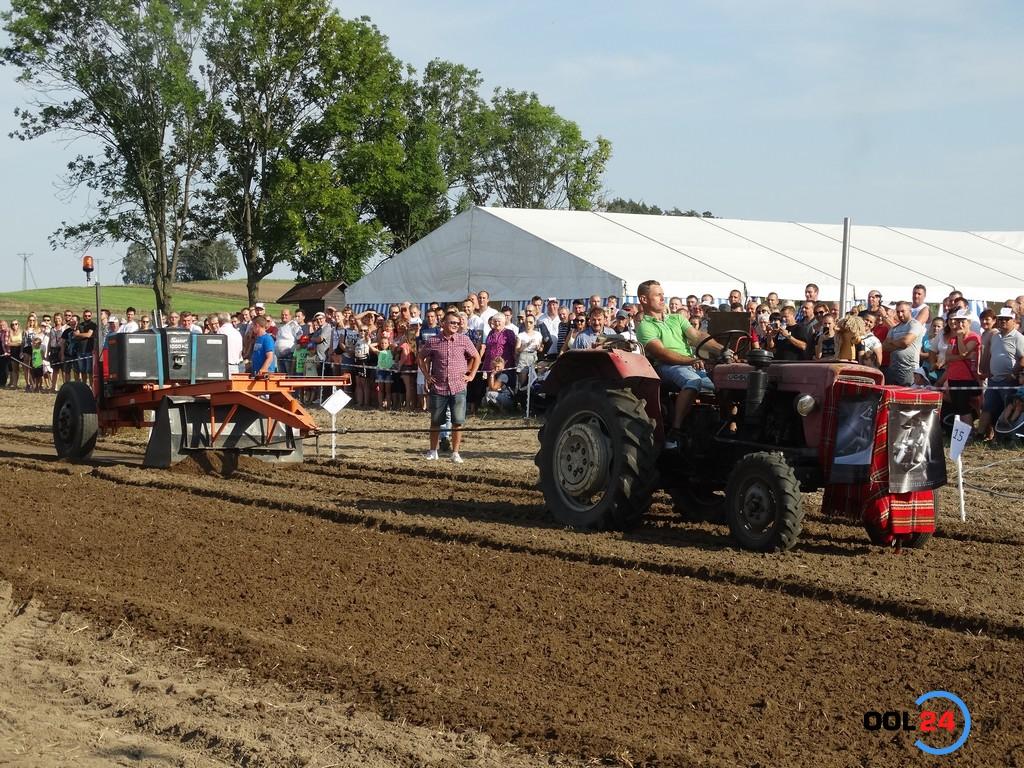 W tractor pulling najważniejszy jest szpas
